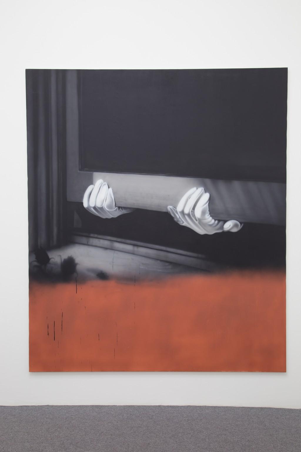 acrylic on canvas 213 x 185 cm