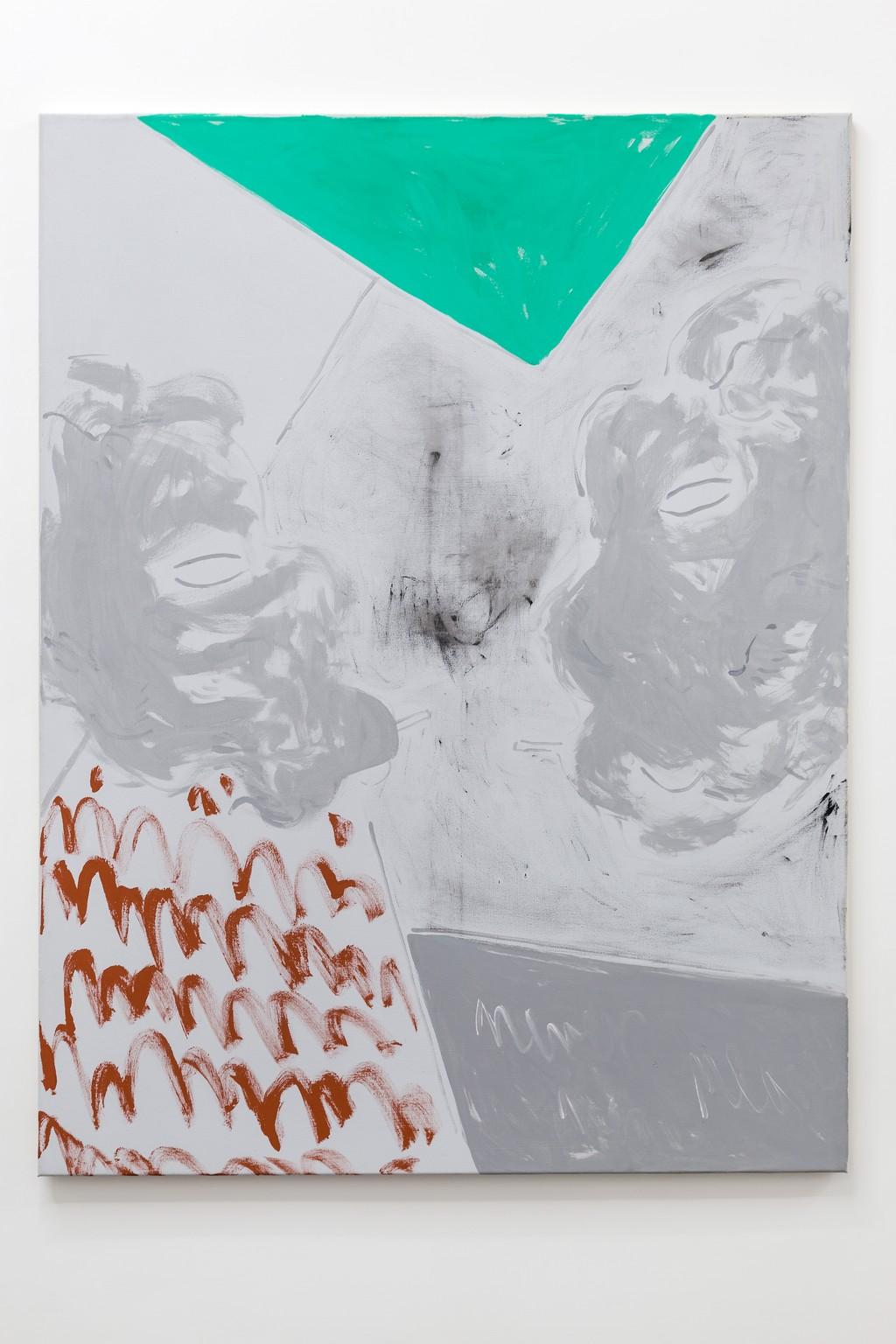 gouache on canvas 130 x 100 cm 2016