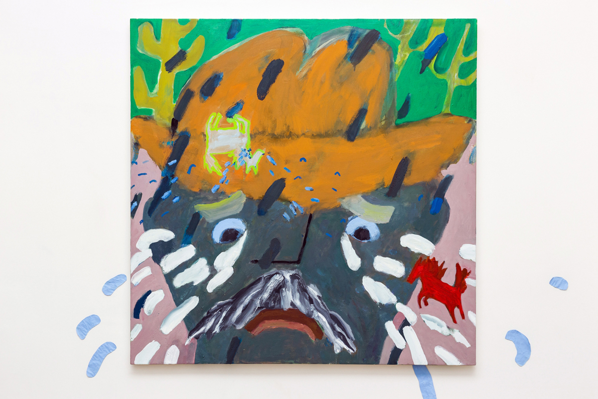 oil on canvas 122 x 122 cm