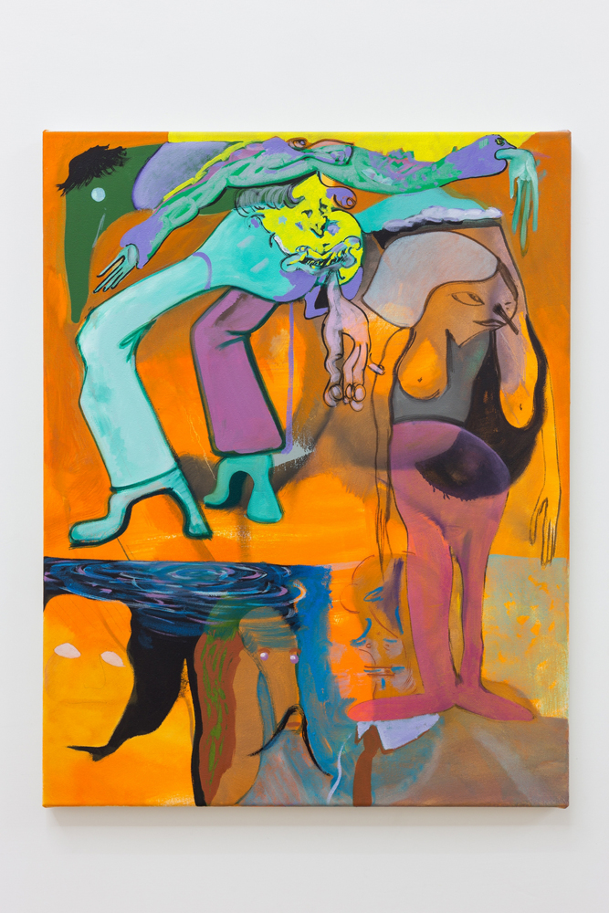oil on canvas,  2017